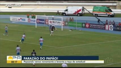Paysandu 1 x 0 Remo: veja os melhores momentos do título bicolor do Parazão 2020