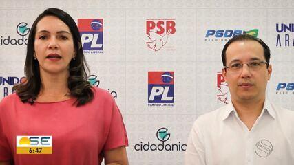 Cidadania oficializa candidatura de Danielle Garcia à Prefeitura de Aracaju