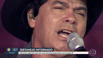 Sertanejo segue internado por causa da Covid-19