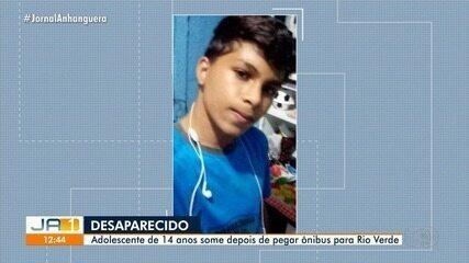 Adolescente pega ônibus e desaparece, em Goiás