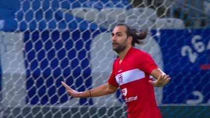 No Mineirão, CRB empata com o Cruzeiro, por 1 a 1