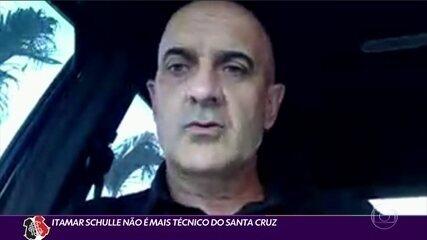 Itamar Schulle anuncia que está de saída do Santa Cruz