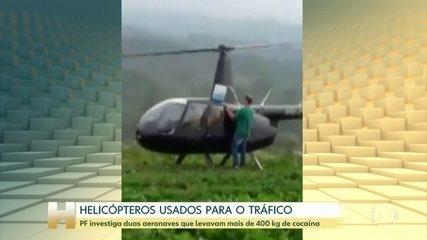 PF investiga duas aeronaves que levavam mais de 400 kg de cocaína