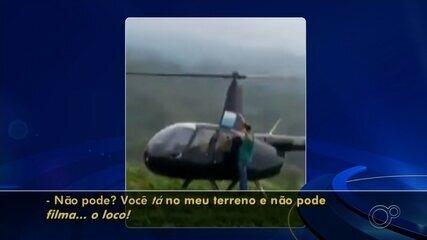 Polícia Federal de Sorocaba investiga apreensão de drogas e helicóptero