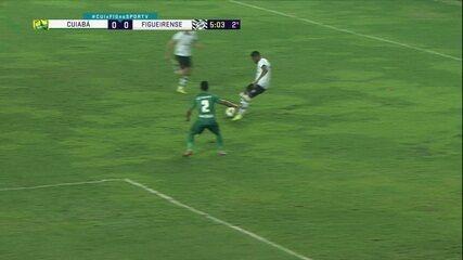 Melhores momentos: Cuiabá 0 x 0 Figueirense pela 9ª rodada do Brasileirão Série B 2020