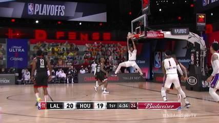 Melhores momentos: Los Angeles Lakers 112 x 102 Houston Rockets, pela NBA