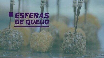 Esferas de queijo: aprenda esse petisco fácil de fazer!