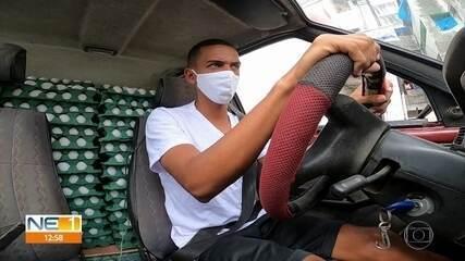 Jovem dirige carro do ovo para realizar sonho de ser piloto de avião