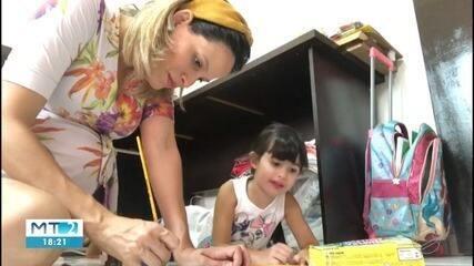 Escolas particulares de Cuiabá retomam atividades para crianças de 2 meses a 4 anos