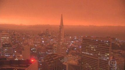 Incêndios florestais na costa oeste americana se espalham por 3 estados