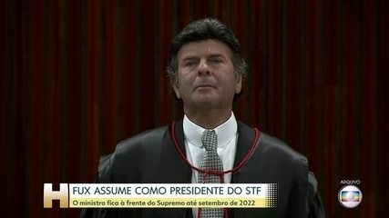 Luiz Fux assume a presidência do Supremo Tribunal Federal