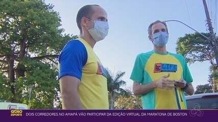 Dupla de corredores do Amapá vai participar da Maratona de Boston Virtual