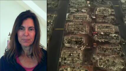 Brasileira que mora nos EUA fala sobre incêndio: 'Pior situação que já vi'
