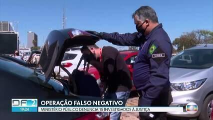 Operação Falso Negativo: MP denuncia 15 investigados à Justiça