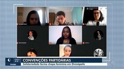 Solidariedade lança chapa feminina para concorrer à Prefeitura de Divinópolis
