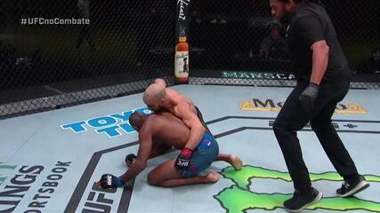 Melhores momentos de Ottman Azaitar x Khama Worthy no UFC Waterson x Hill