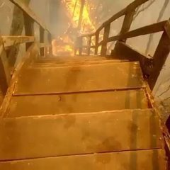 Incêndio atinge ponto turístico em MT