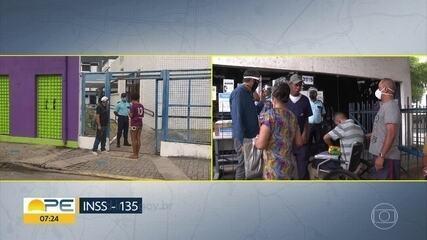 INSS reabre parte das agências em Pernambuco