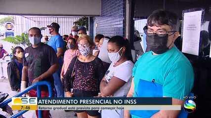 Sem perícia médica, agências do INSS em Aracaju registram tumultos e reclamações