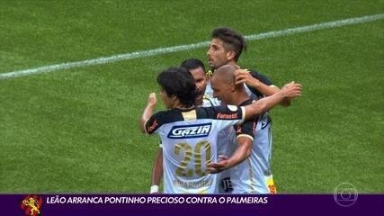 Sport arranca ponto precioso contra o Palmeiras em São Paulo