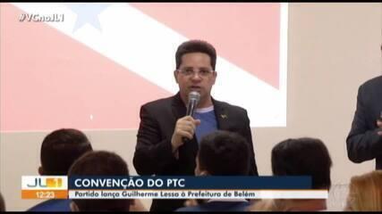 PTC lança candidatura de Guilherme Lessa à prefeitura de Belém