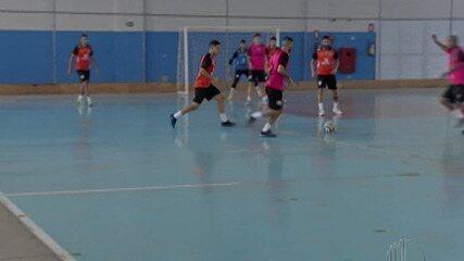 Mogi Futsal inicia treinos coletivos de olho na estreia da Liga Paulista