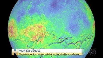 Cientistas encontram gás na atmosfera de Vênus que pode indicar vida extraterrestre