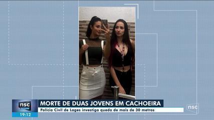 Duas amigas morrem ao cair em cachoeira de 30 metros na Serra de SC