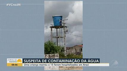 Bebê morre após consumir água com suspeita de contaminação em Araci