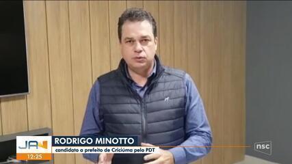 Eleições 2020: PDT define candidato a prefeito de Criciúma