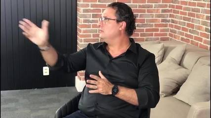 Alexandre Mattos comenta possível negociação com Thiago Neves