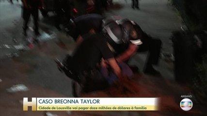 Família de Breonna Taylor fecha acordo 12 mi de dólares por assassinato