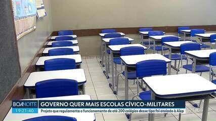 Governo do Paraná quer regulamentar o funcionamento de mais 200 escolas cívico-militares
