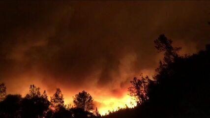 Incêndios florestais nos EUA deixam 36 mortos e dezenas de desaparecidos