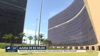 """Governo de Minas paga mais duas parcelas do """"Bolsa Merenda"""""""