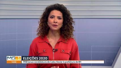 PMB lança Cabo Xavier à Prefeitura de Belo Horizonte