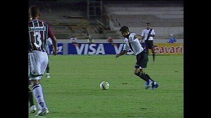 Em 2006, Vasco vence o Fluminense pela semifinal da Copa do Brasil