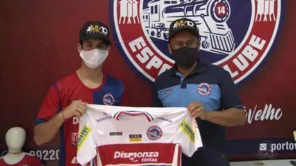 Destaque nas categorias de base, Porto Velho assina com jogador de 15 anos