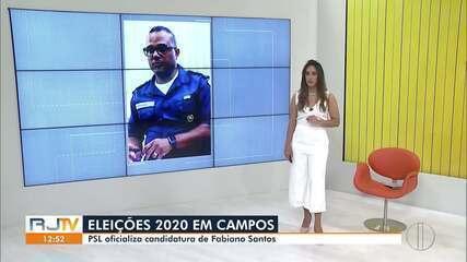 PSL oficializa candidatura de Fabiano Santos à Prefeitura de Campos, no RJ