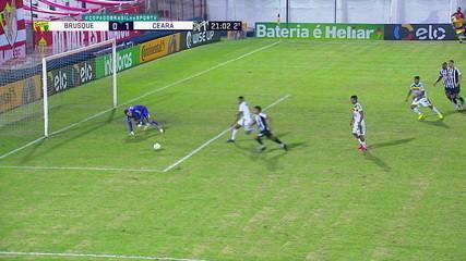 Melhores momentos de Brusque 0 x 2 Ceará, pela 4ª fase da Copa do Brasil 2020