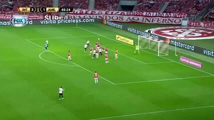 Melhores momentos de Internacional 4 x 3 América de Cáli, pela 3ª rodada da Libertadores