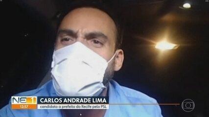PSL oficializa candidatura de Carlos Andrade Lima a prefeito do Recife