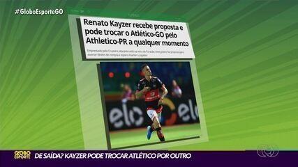 Renato Kayzer recebe proposta e pode deixar o Atlético-GO