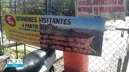 Traficantes cobram pedágio para acessar a trilha do Morro Dois Irmãos