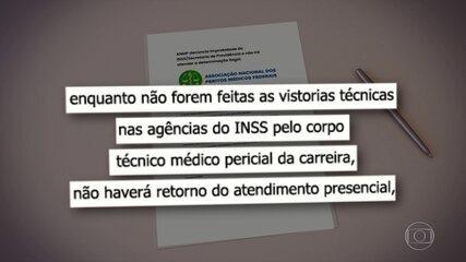 INSS reabre agências, mas perícias não recomeçam