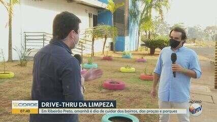 Ribeirão Preto, SP, terá 'drive-thru' da limpeza no sábado