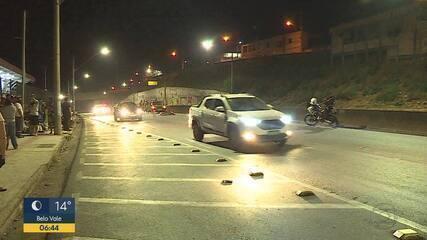Motociclista morre em acidente na Via Expressa de Contagem