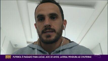 Lucas, ex-lateral do Figueirense, se aposenta aos 32 anos