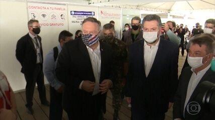 Secretário de Estado americano, Mike Pompeo, visita Roraima