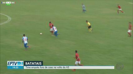 Batatais-SP empata com o Nacional pela Série A3 do Campeonato Paulista